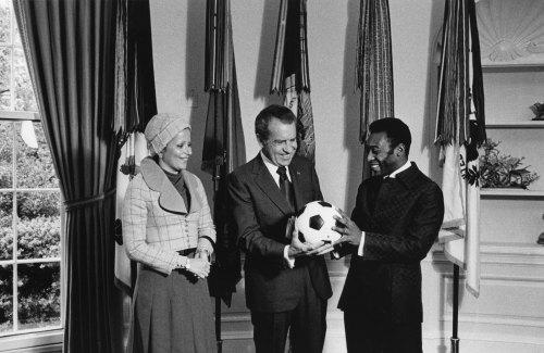 Nixon and Pele