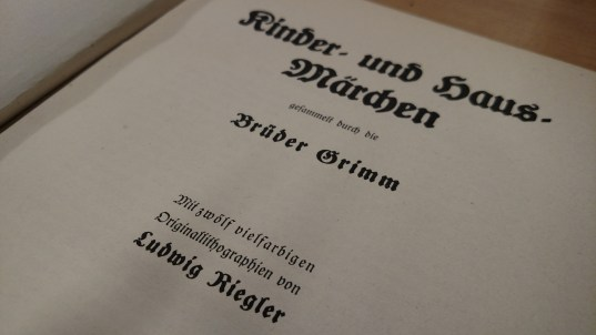 The Brothers Grimm, Kinder und Marchen
