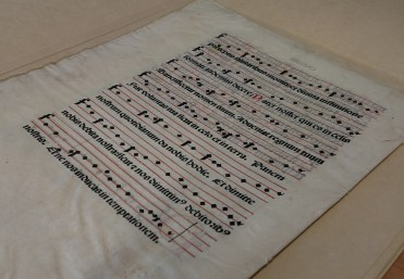 Vellum Leaf from a Missal printed in 1493