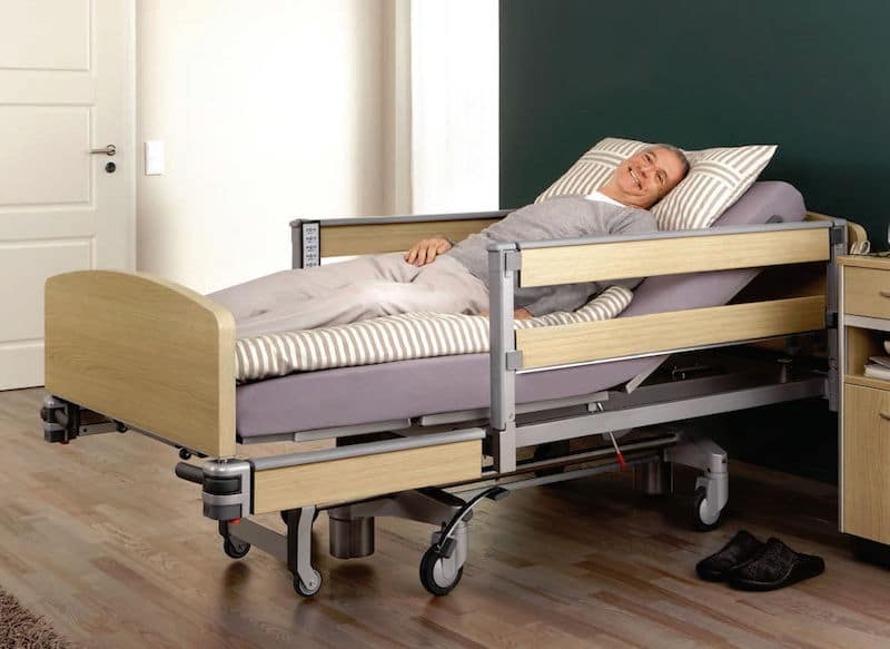 hospitals beds are categorized into two main types depending on their mode of operation these are the manual and electric hospital beds