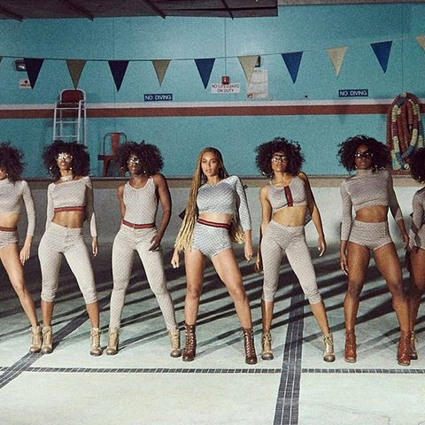 "Beyonce in Gucci for ""Formation"" Video"