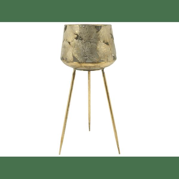 Planter 'Gold Leaf'