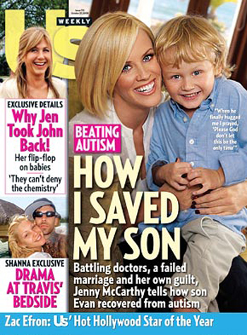 Many people see Jenny McCarthy battling doctors to save or recover her son as being anti-autism.