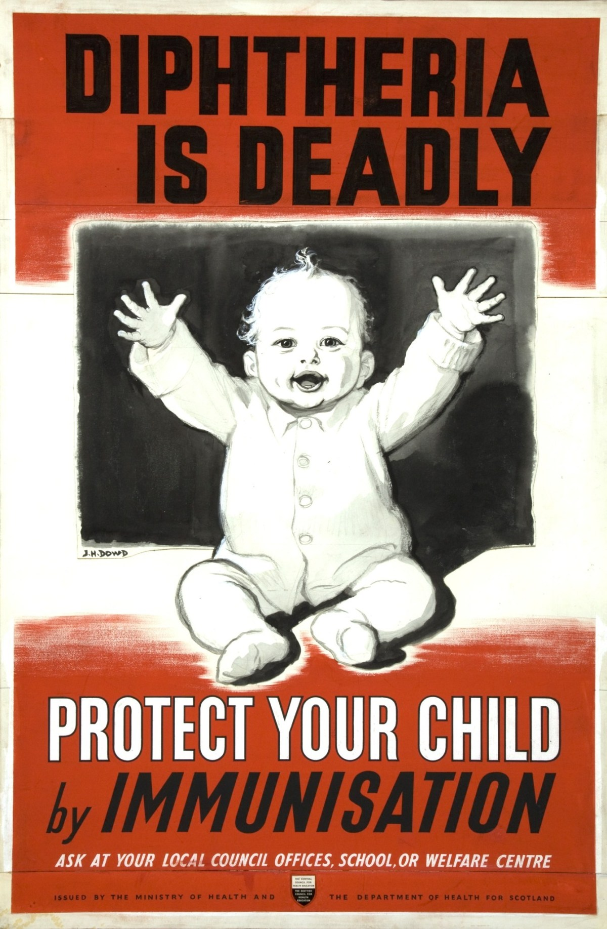 DTP vaccines protects against diphtheria, tetanus, and pertussis.