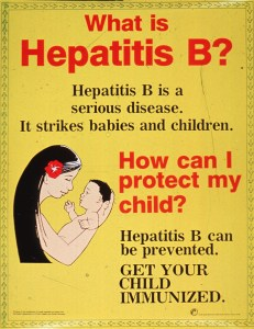 Hepatitis B can be prevented.