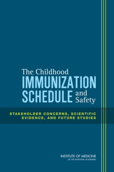 A 2013 report about vaccines from the Institute of Medicine uncovered no evidence of major safety concerns.