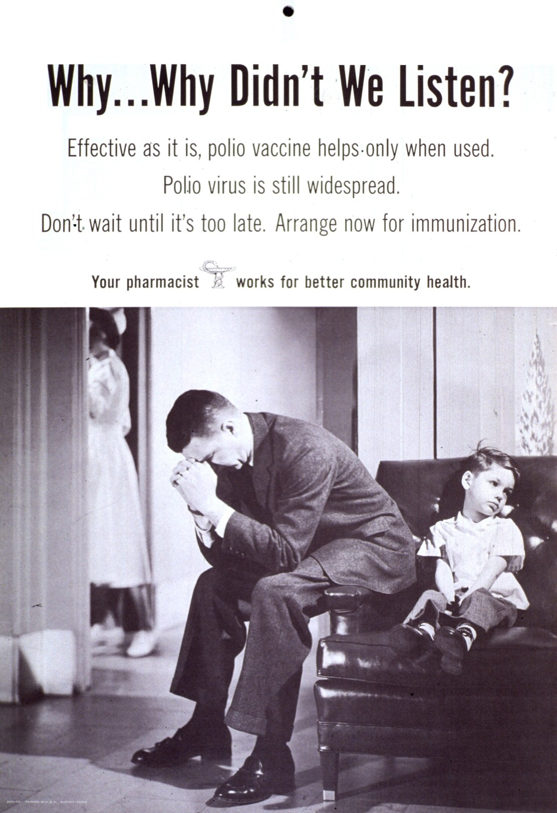Polio Vaccine - don't wait until it's too late.