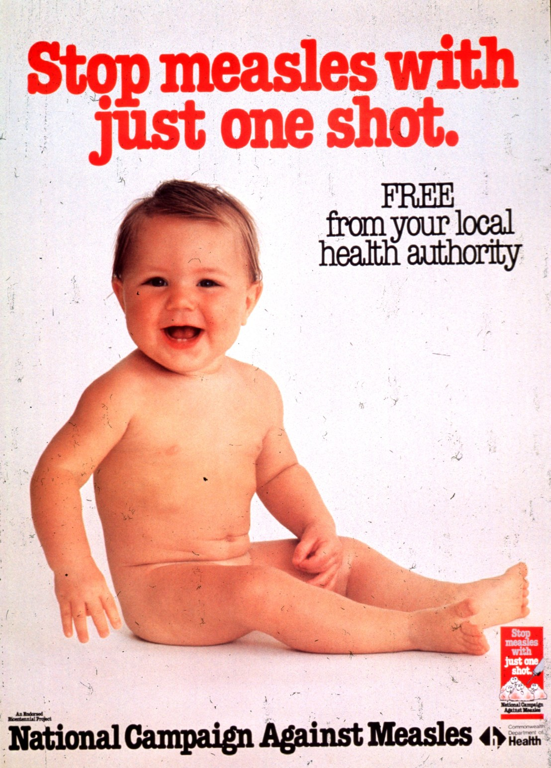 Stop measles with just one shot, well two...