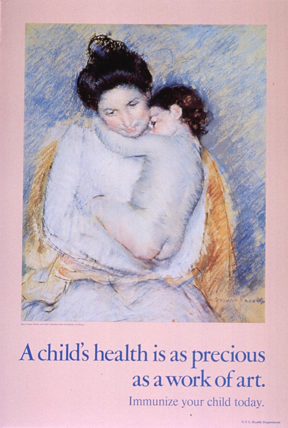 A child's health is as precious as a work of art: immunize your child today