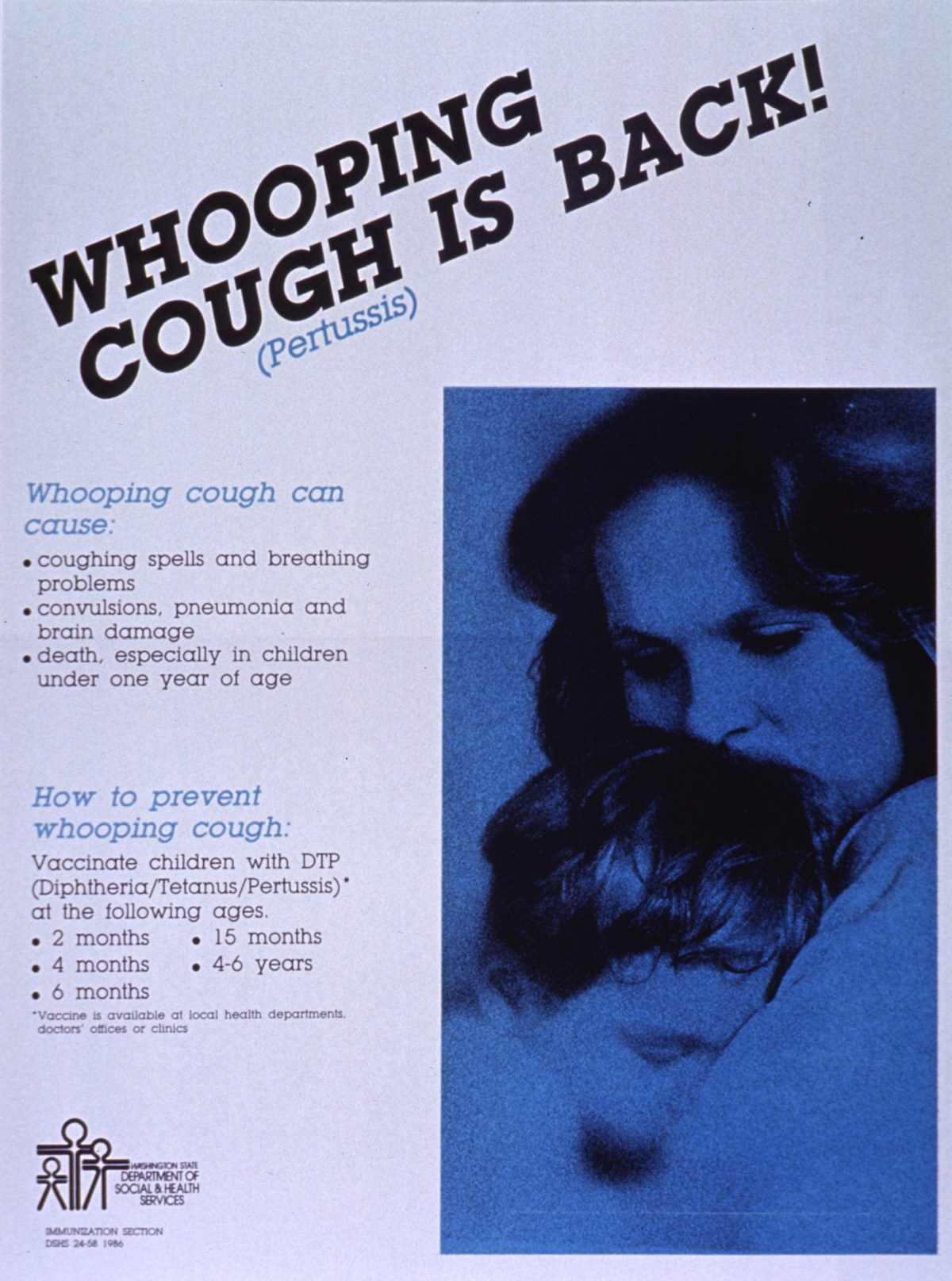 DTP and DTaP protect against diphtheria, tetanus, and whooping cough.