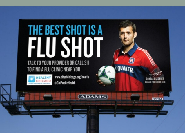 The best shot is a flu shot.