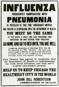Once upon a time, we didn't have flu vaccines to help keep us healthy.