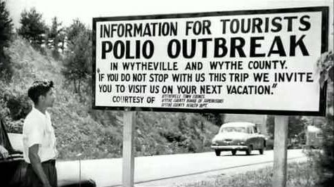 In the pre-vaccine era, we had outbreaks of polio, and other, now vaccine-preventable diseases.