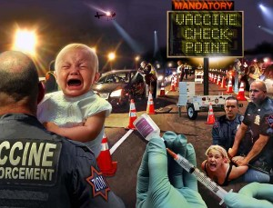Anti-vaccine folks go to great lengths to scare you into thinking that someone is going to force you to vaccinate your kids. They aren't...