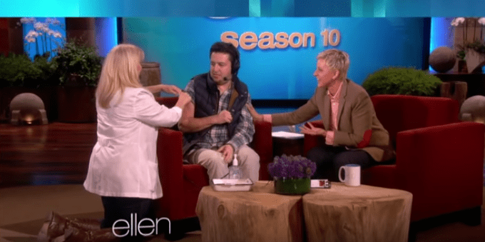 Ellen helps make sure all of her staff get flu shots each year!