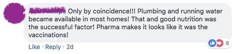 It was vaccines.