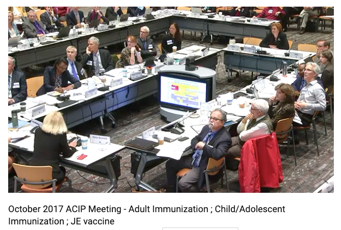 Thoughtful discussions on setting the immunization schedule at ACIP.