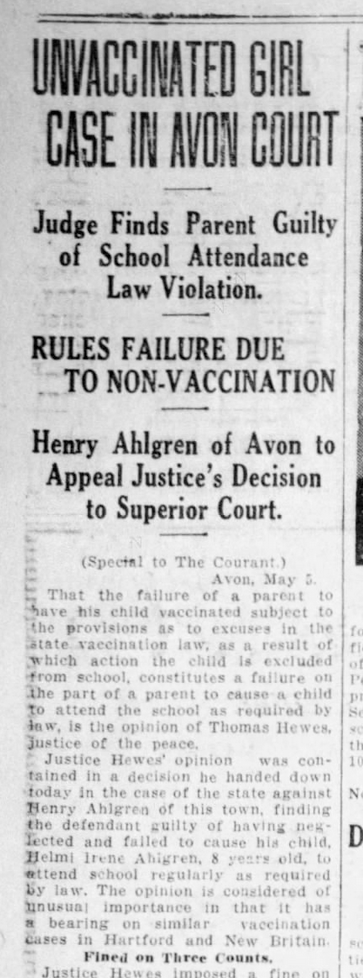 This was in 1924, but just like today, these parents didn't win their court case.