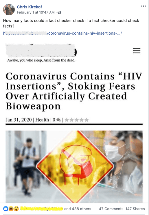 "The ""research paper"" that stoked fears of spiked proteins and similarity to HIV was quickly withdrawn by its authors..."