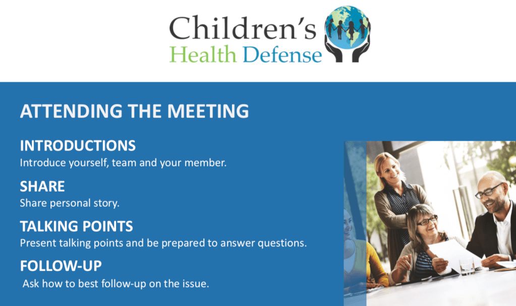 It is easy to see why some Legislators might be tricked by slick anti-vaccine talking points in these meetings.