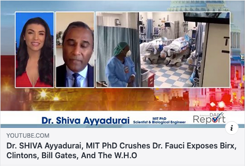 Dr. Shiva Ayyadurai is not a medical doctor.