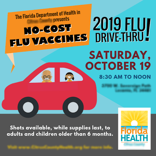 Drive-thru flu clinics will not be a new thing for many people!