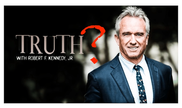 Truth about vaccines? From Robert F. Kennedy, Jr.?