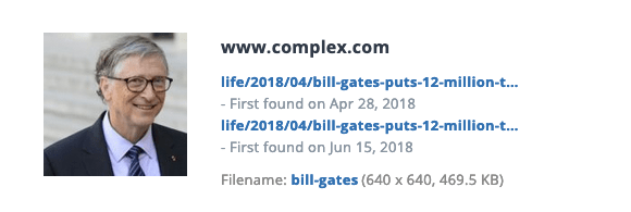 This is Bill Gates in 2018.