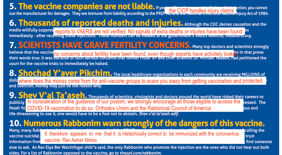 The bottom line is that COVID-19 vaccines safe, with few risks, they work well, and are very necessary if we are going to end the pandemic.