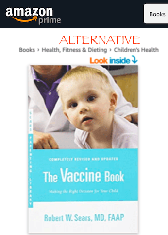 How hard would it be to add a warning label or move anti-vaccine books into their own anti-vaccine categories on amazon?