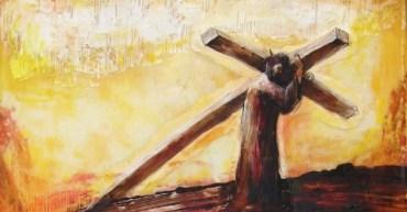 Jesus carga su cruz