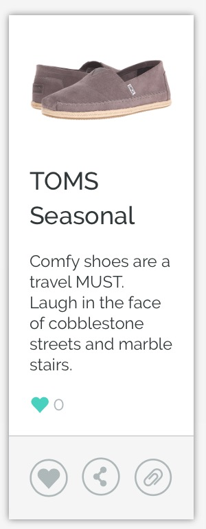 TOMS Seasonal Shoe