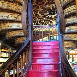 Livraria Lello Bookstore in Porto, Portugal