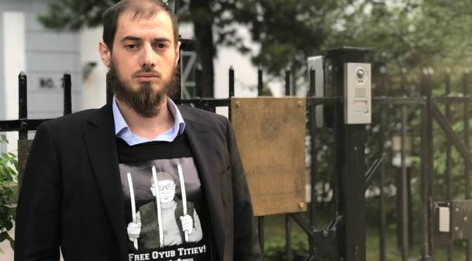 Freedom for Oyub Titiyev!