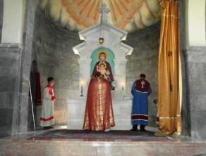 Տոնակատարություն Մալիշկայի Սուրբ Աննա եկեղեցում