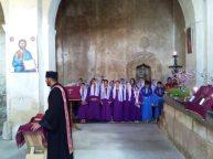Ոտնլվայի, Ճրագալույցի և Ս. Հարության արարողություններ սահմանամերձ Խաչիկ համայնքում