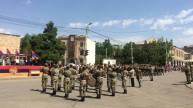 Զորահանդես նվիրված ՀՀ ՊՆ 4-րդ բանակային կորպուսի կազմավորման 20-րդ տարեդարձին