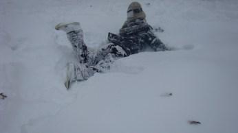 Snow Bath - most fun