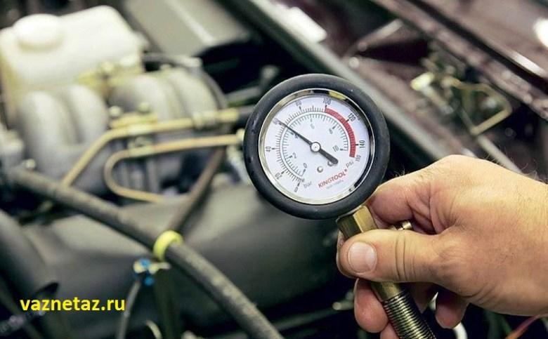 проверка компрессии ВАЗ 2107