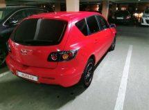 Mazda 3 - вид сзади