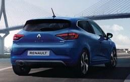 Renault Clio сзади