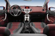 Ford Fiesta салон
