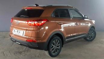 Сзади Hyundai Creta
