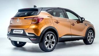 Сзади Renault Captur