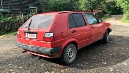 Volkswagen Golf — вид сзади