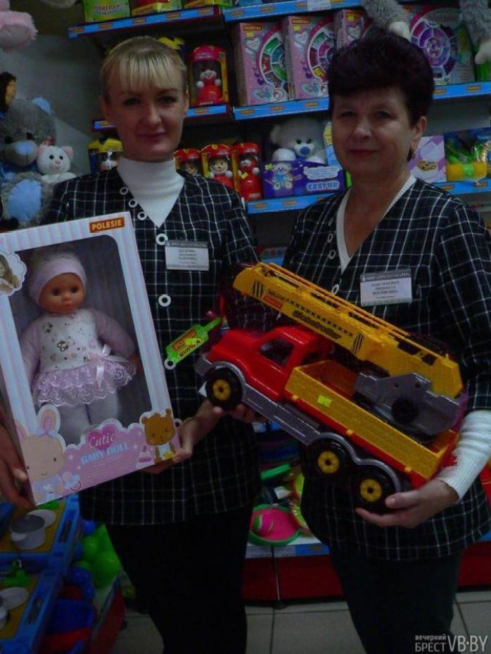 Вместо непопулярной «Кулинарии» в Пружанах открыли магазин игрушек