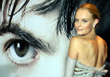 Kate Bosworth on red carpet at movie premiere of 21 at Planet Hollywood in Las Vegas, Nevada on March 12, 2008. Photo by Mike Stotts.