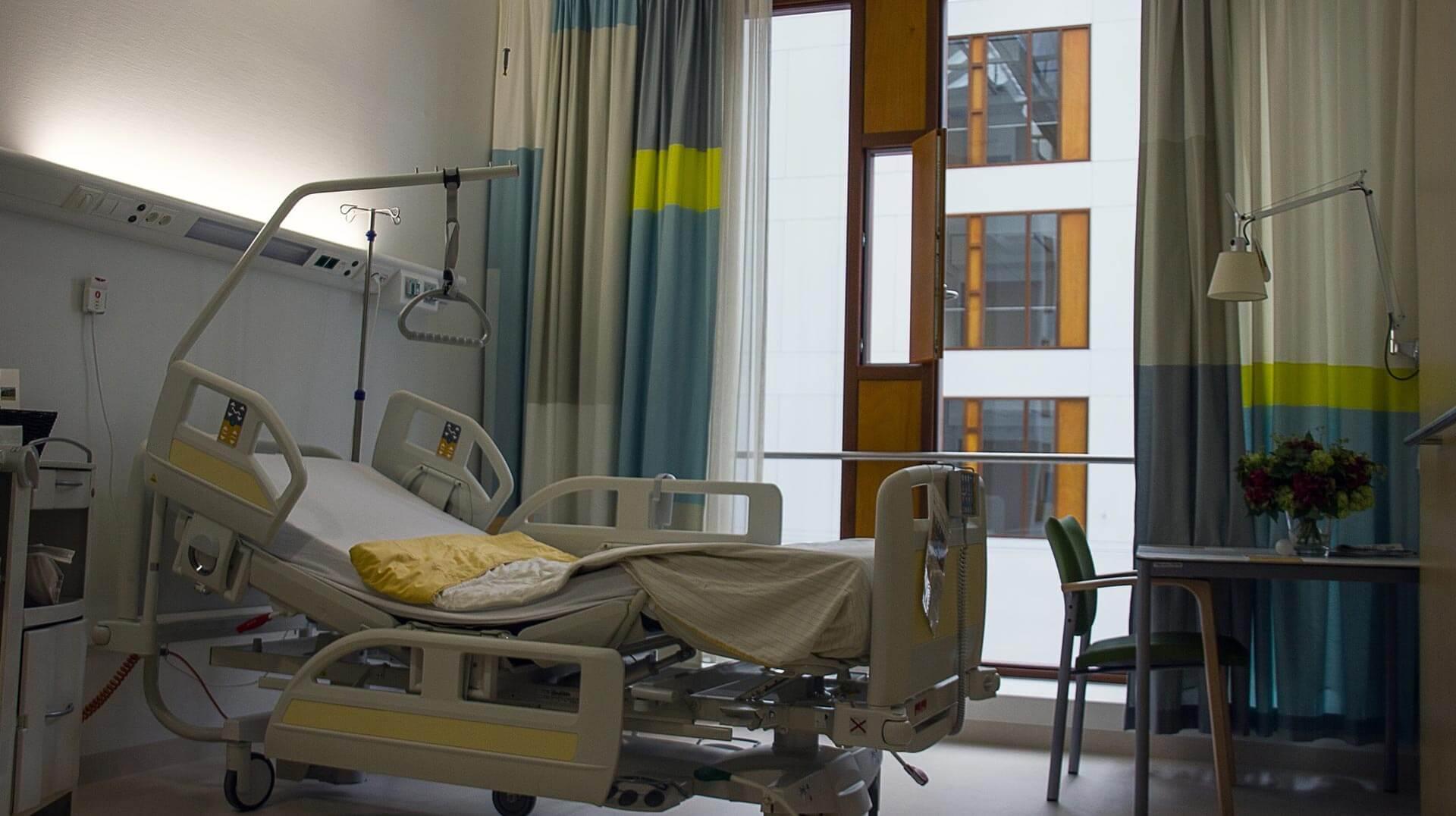 forced cesarean hospital bed