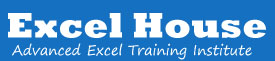 Excel House Advanced Excel Training Institute in gurgaon