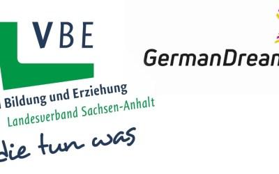 #DreamDuo: VBE Sachsen-Anhalt und GermanDream initiieren ersten gemeinsamen Wertedialog